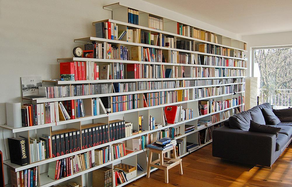 bücheraufbewahrung • bilder & ideen • couchstyle, Wohnzimmer