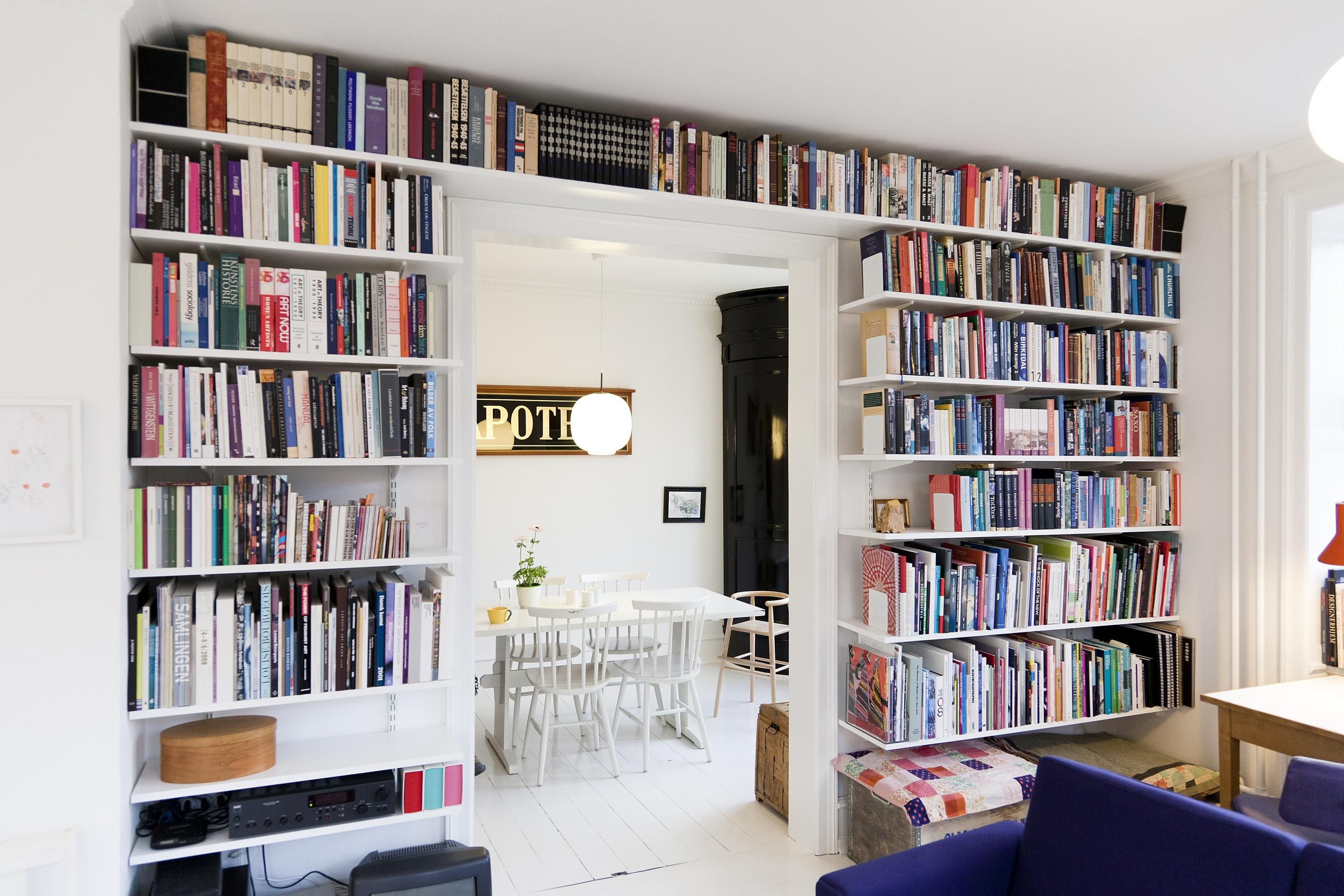 Bücherregal #bücherregal #zimmergestaltung ©Elfa International AB