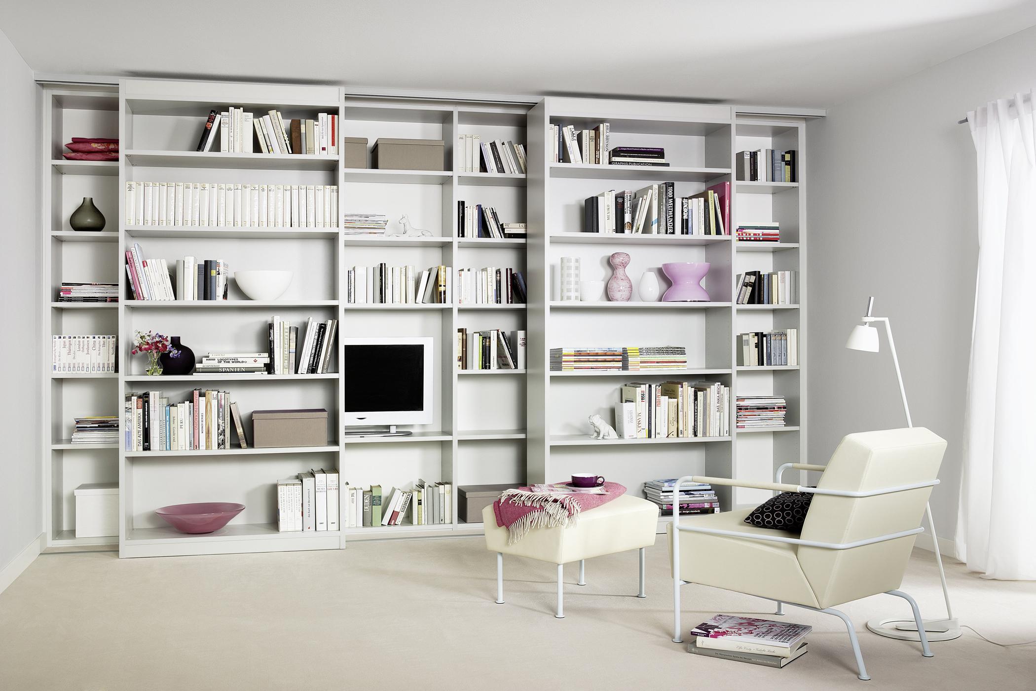 freistehendes b cherregal bilder ideen couch. Black Bedroom Furniture Sets. Home Design Ideas