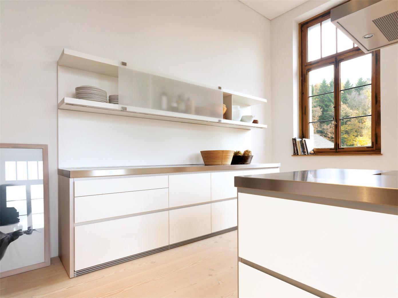 Bulthaup #b1 #küche #kücheninsel #küchenaufbewahrung ©Bulthaup GmbH U0026 Co KG