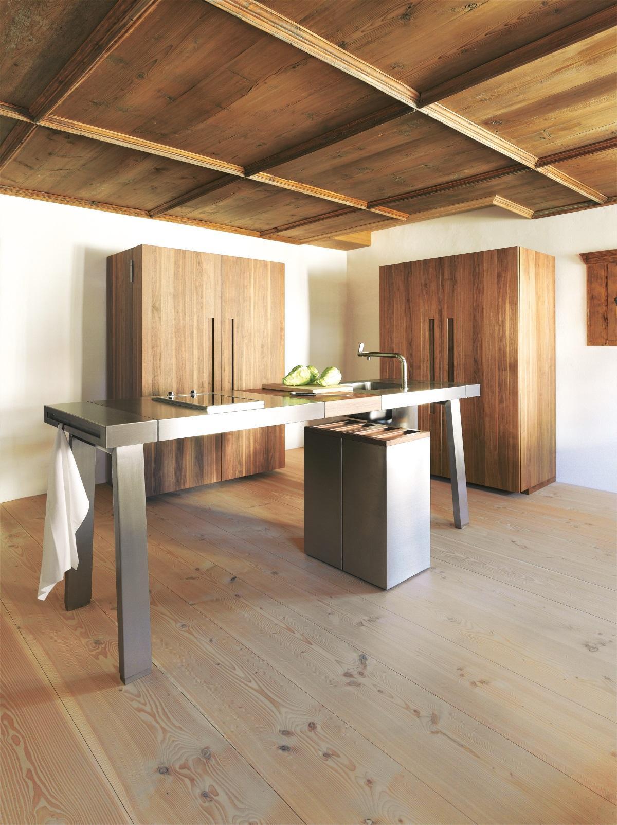 Küchentisch aus arbeitsplatte  bulthaup #b2 #küche #arbeitsplatte #kücheninsel #küc...