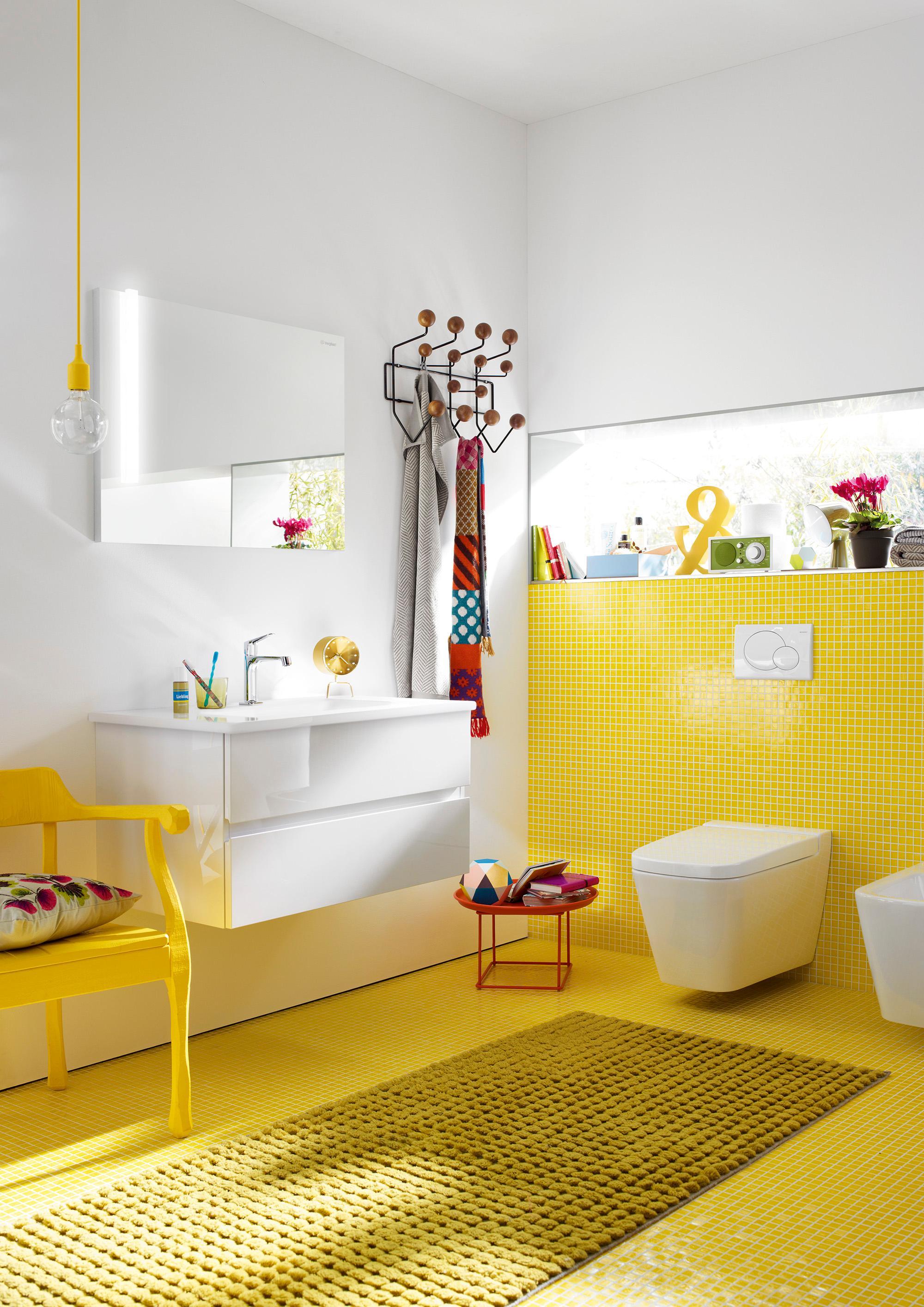 Burgbad Bel Kleines Badezimmer Hell Und Freundlich Gestaltet #bad # Badezimmer #spiegel #waschtisch