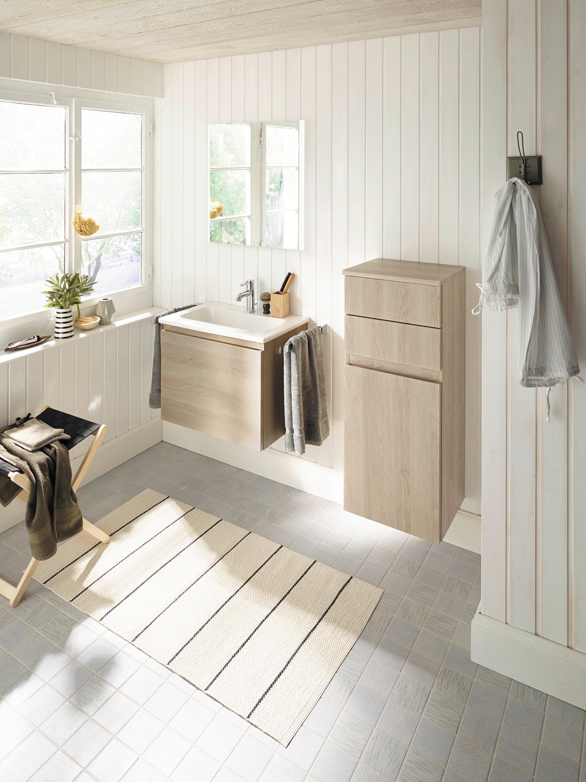 Kleine Badezimmer größer machen: Finde Ideen bei COUCH!