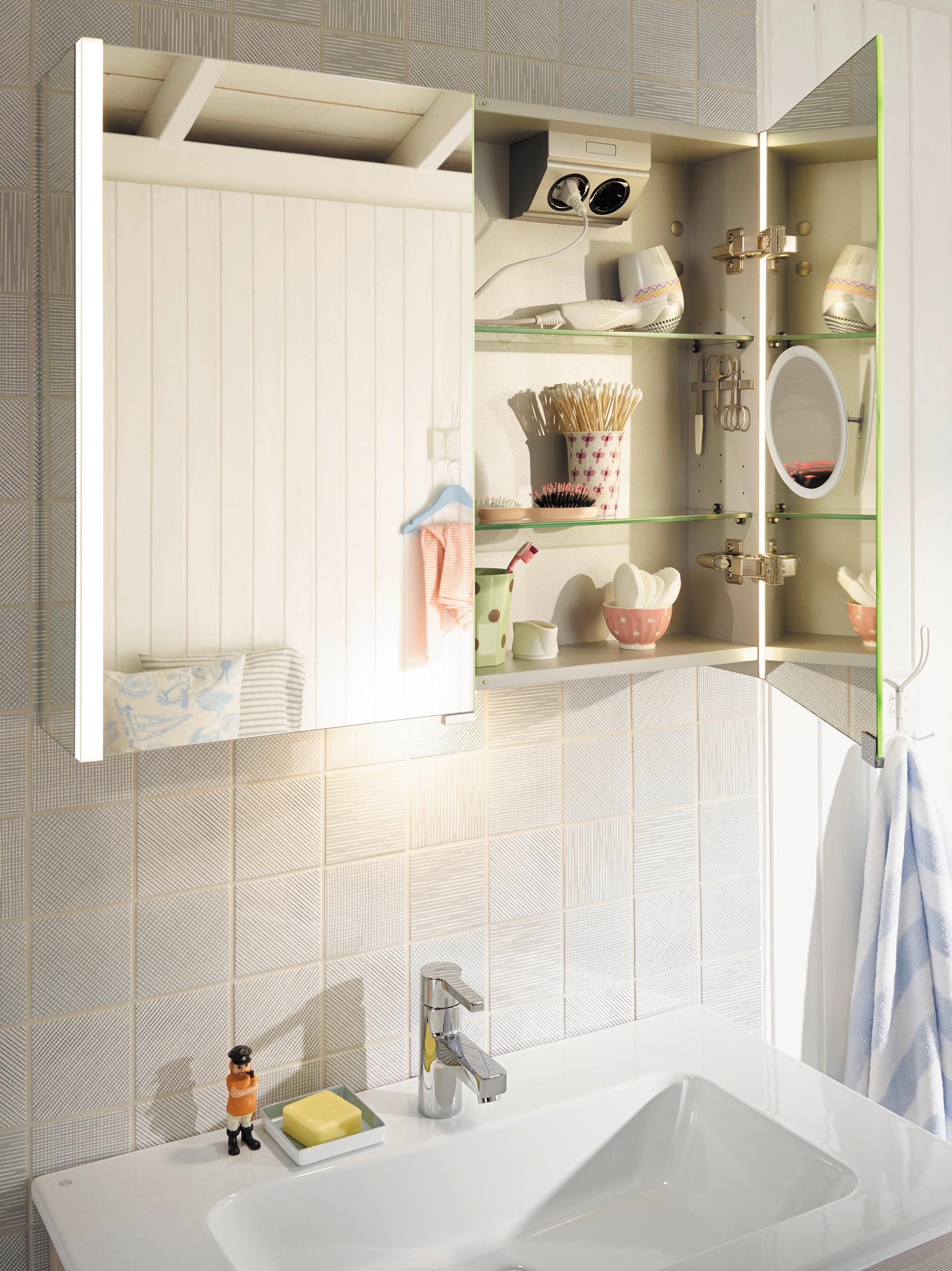 burgbad Bel Spiegelschrank mit LED-Beleuchtung #bad ...