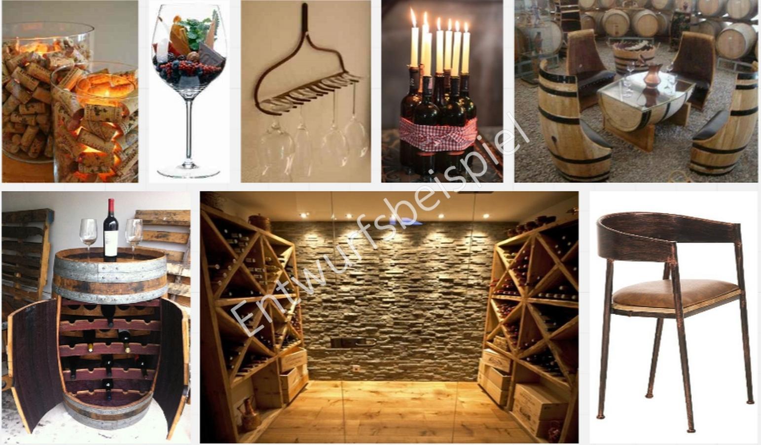 Business Styling Moodboard Für Einen Rustikal Weinkeller #stuhl #dekoidee  #rustikal #moodboard