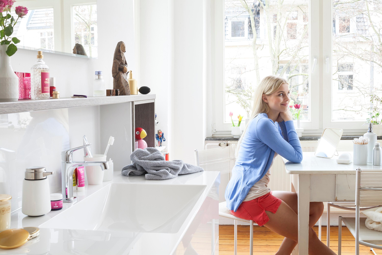 Cconceptwall Waschtisch Weiß #bad #ablage #regal #badezimmer #spiegel  #waschtisch #