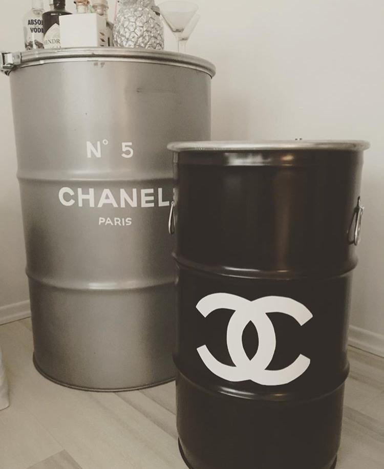 Chanel diy fass upcycling homesweethome picoftheday instalike follow love no5 projects interiordesign  1f719ae7 5ad7 47de b8ca 60b650de8b00