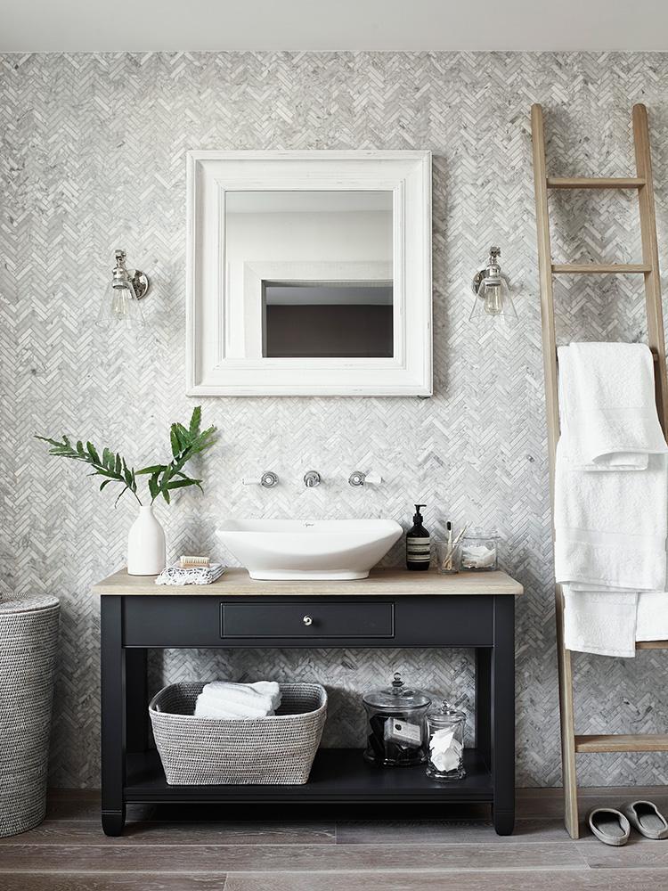 Graues Badezimmer • Bilder & Ideen • COUCH