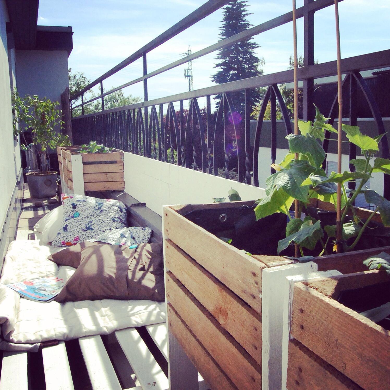 sitzecke balkon • bilder & ideen • couch