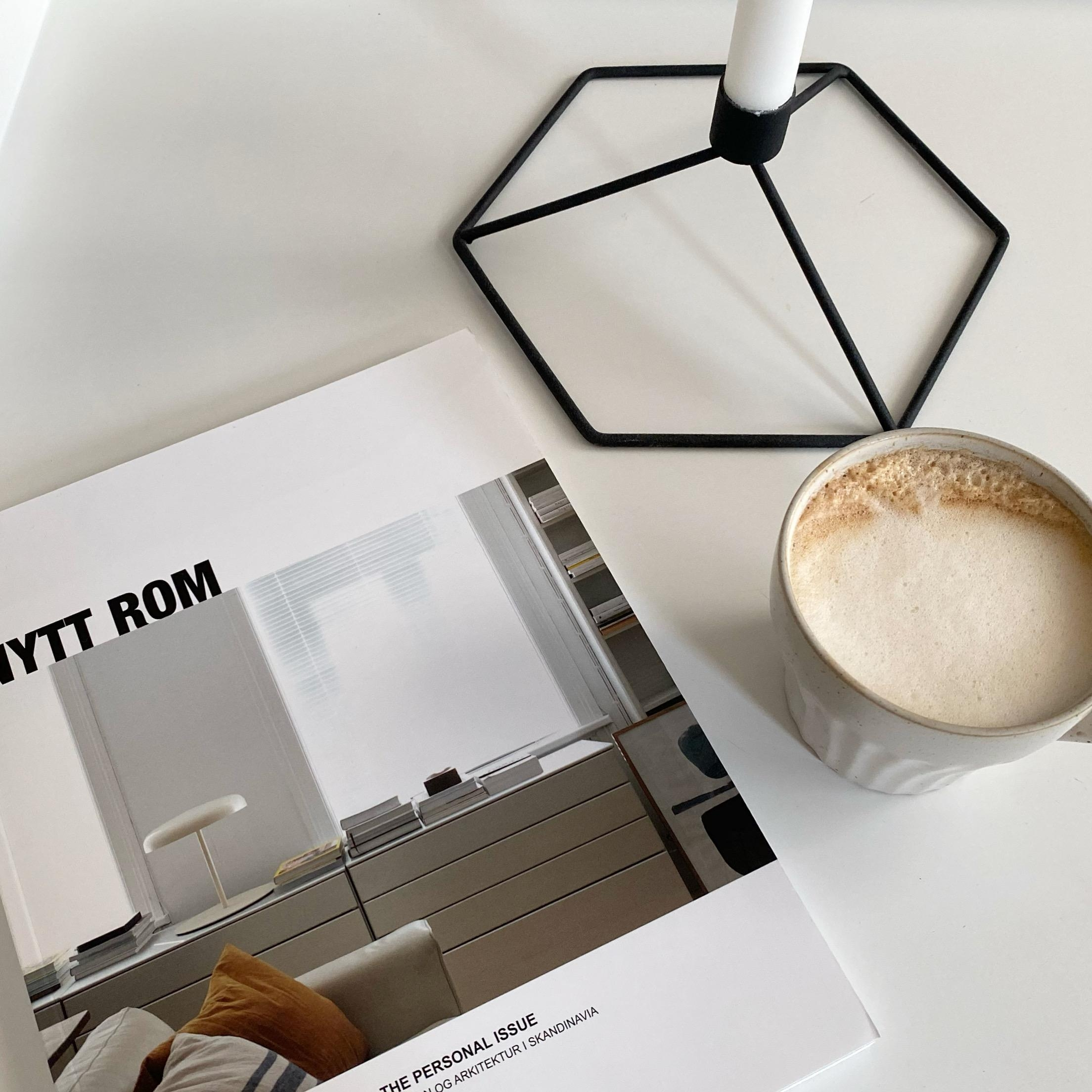 Coffee Time #nyttrom #magazine #coffeetime