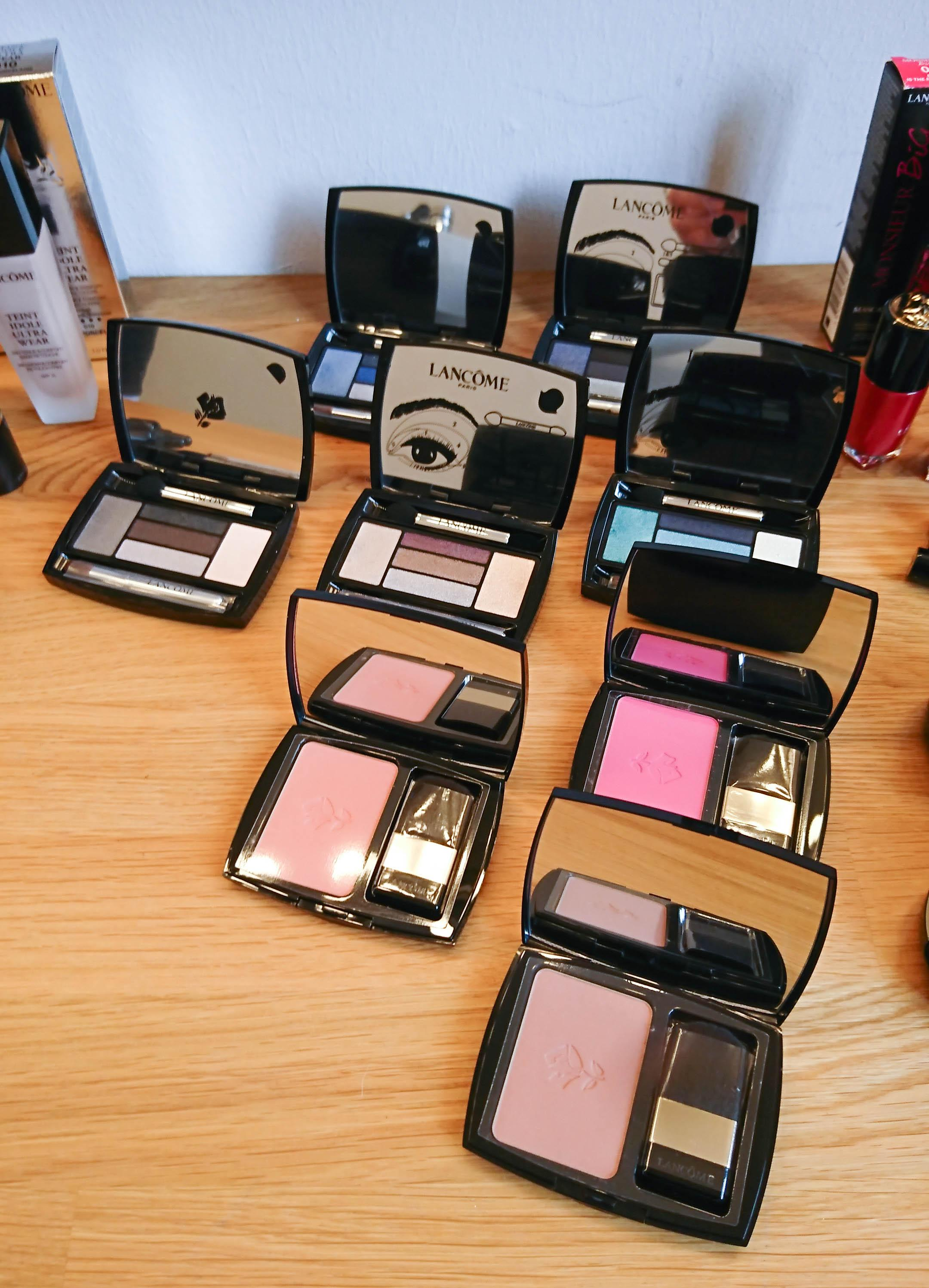 Color Play beim Shooting! #lancome #lisabanholzerbeauty #bloggerbazaar #couchliebt #blush #makeupessentials