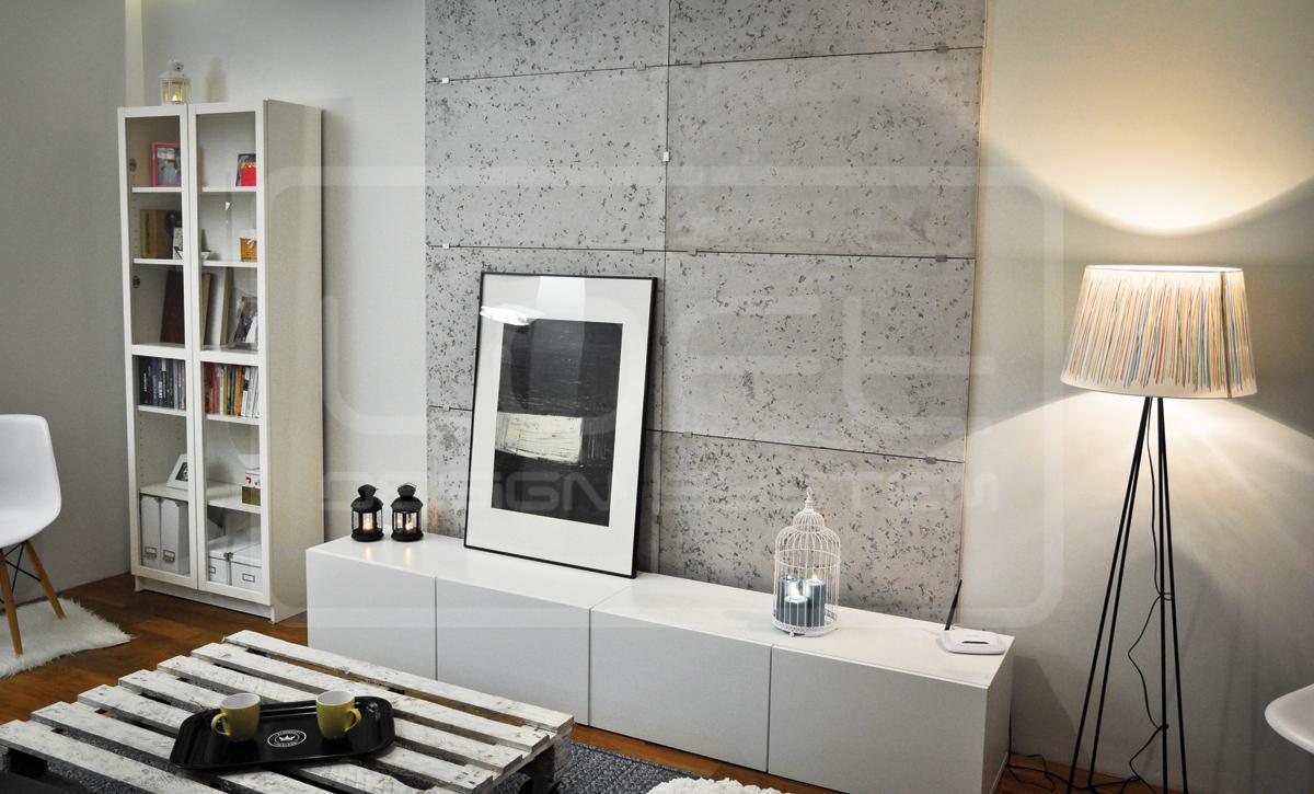 Betonoptik Wandgestaltung • Bilder & Ideen • Couchstyle