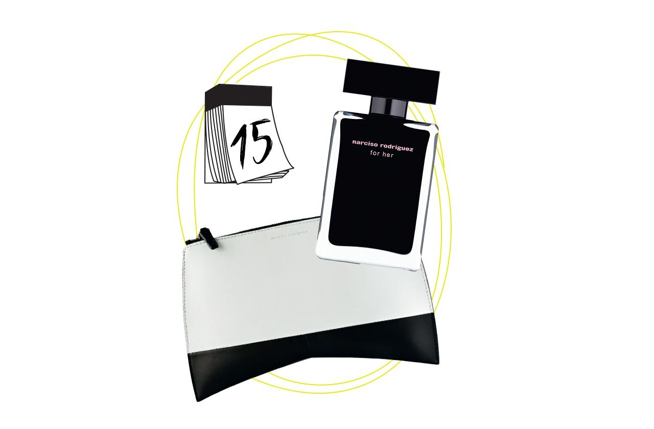 Cooles duo set von narciso rodriguez plus schwarze clutch 211  9d3392f0 9048 477c 8e85 0c5b1905f73d