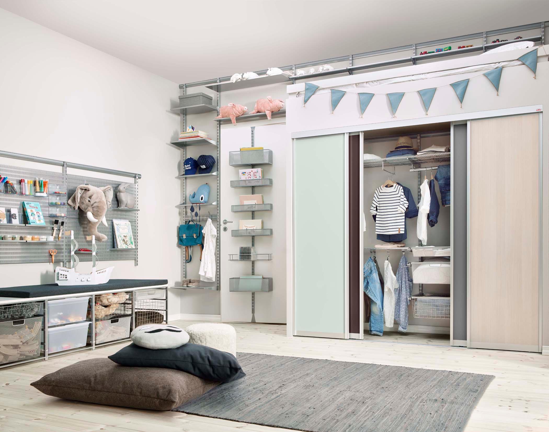 Cooles Kinderzimmer Mit Viel Stauraum Dielenboden