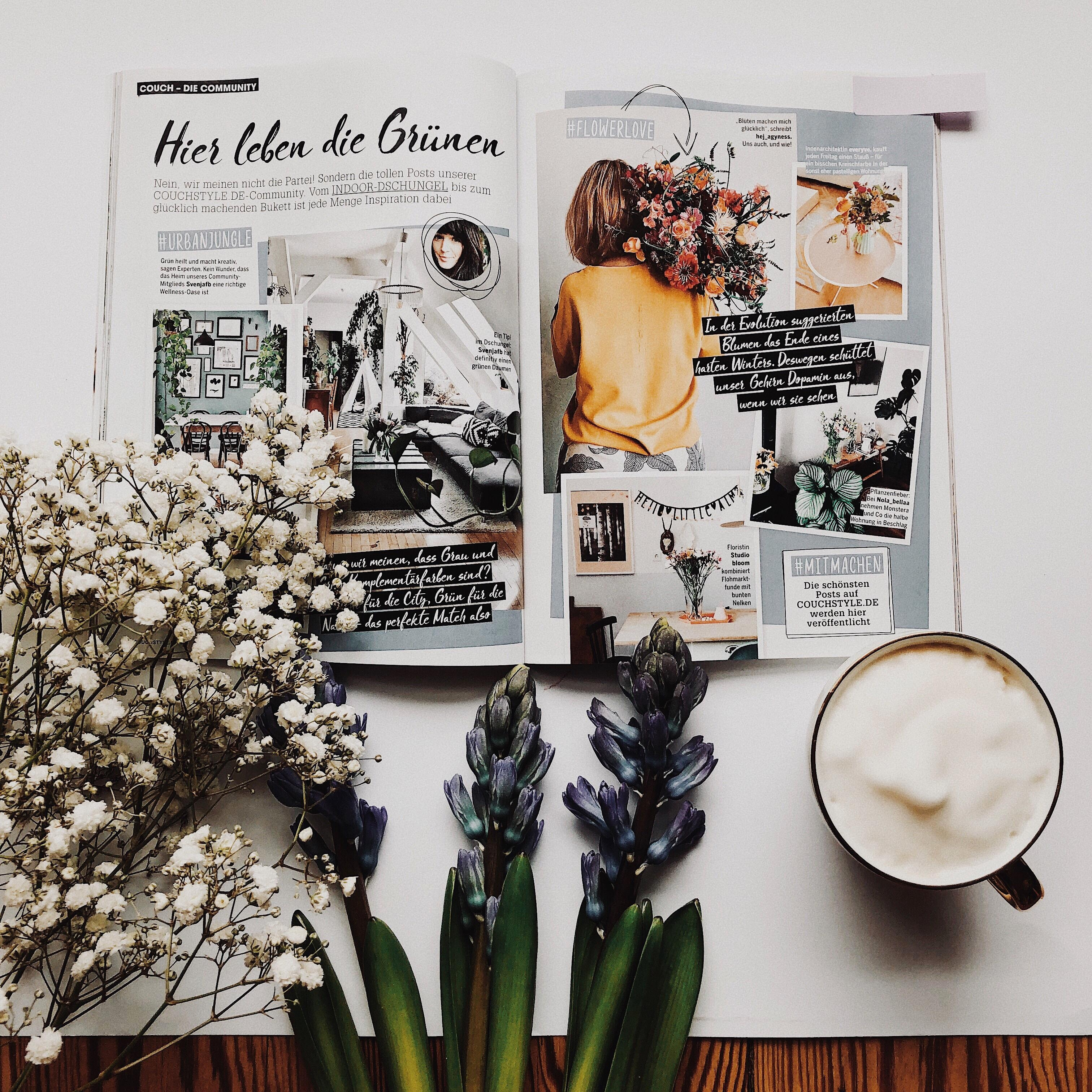 Couchmagazin mit mir couchstyle flowerlove springflowers flatlay coffeelover createinspring  bbbe460f ff28 425e a798 d4ad72334465