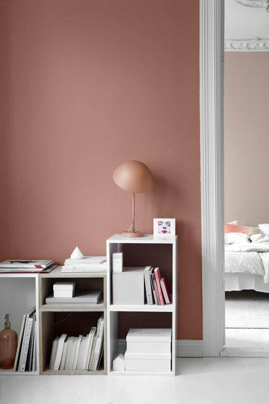 AuBergewohnlich #couchstyle #wandfarbe #jotun #interior #design #schlafzimmerfarben