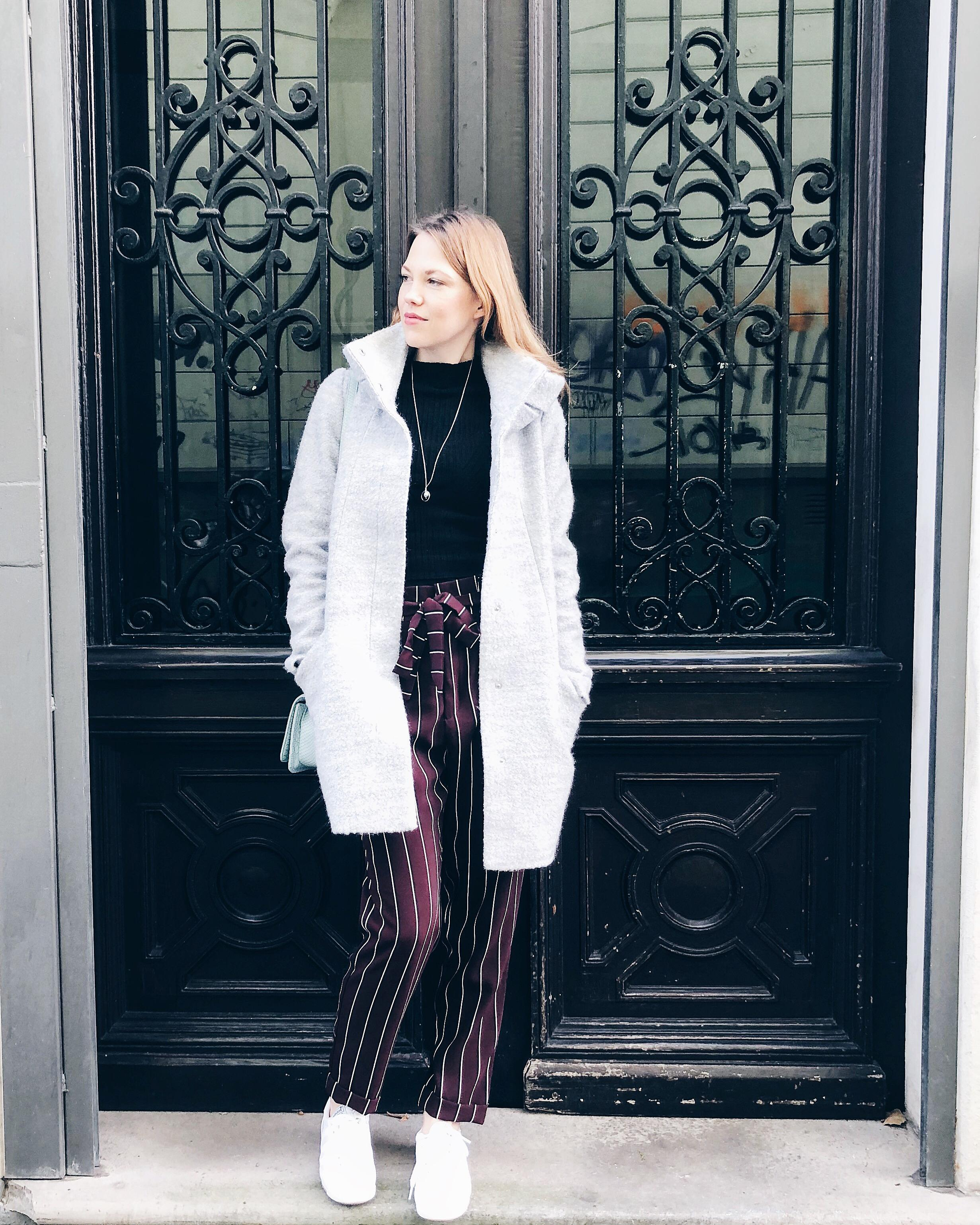 "Cozy Sunday""s.... 🍁 #ootd #coat #stripes #antumn #vondirinspiriert"