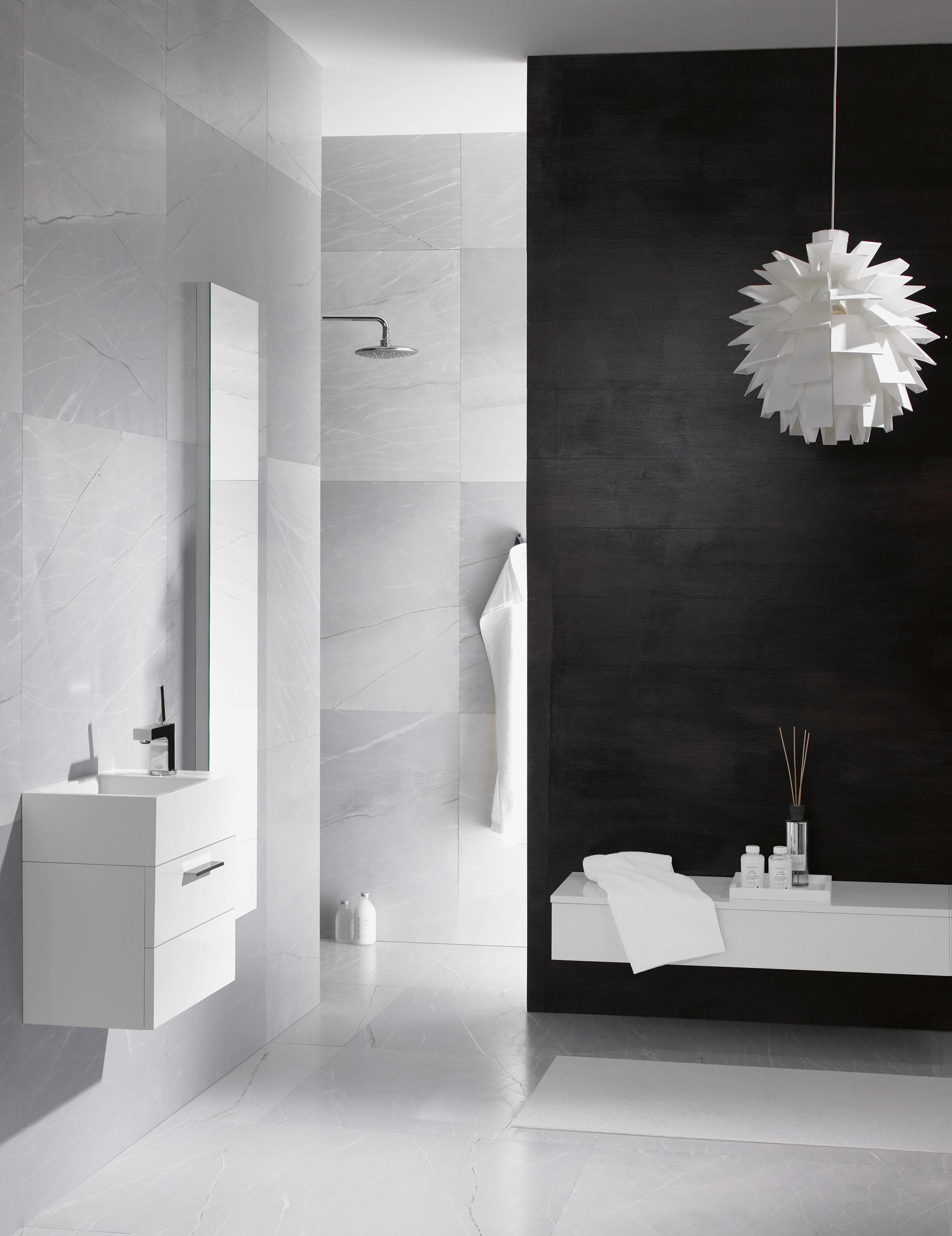 Crono Gästebad #bad #badezimmer #spiegel #waschtisch