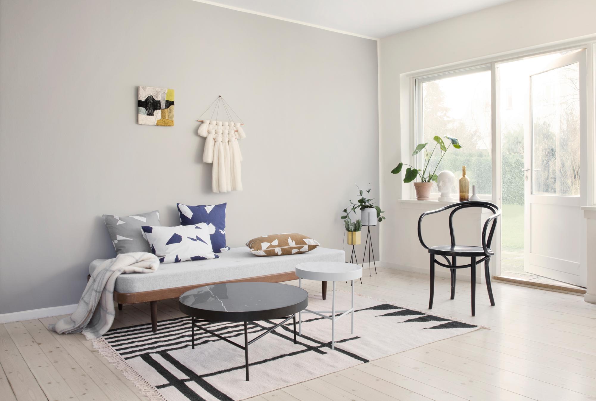 Dekokissen Peppen Das Wohnzimmer Auf #stuhl #couchtisch #teppich #wohnzimmer  #grauessofa #