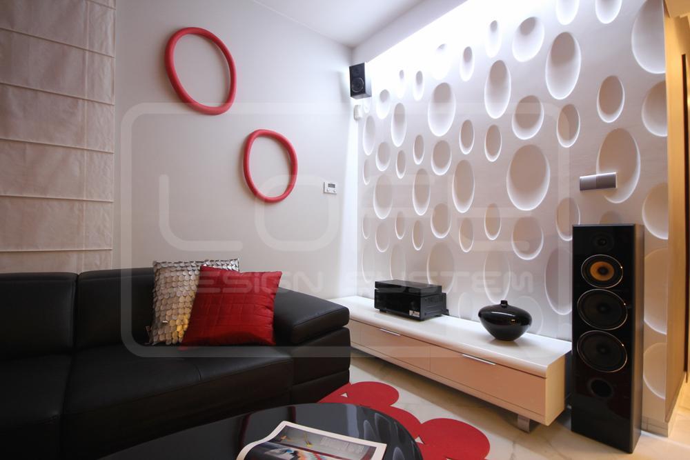 Wohnzimmer ideen wandgestaltung  Wohnzimmer Wandgestaltung • Bilder & Ideen • COUCHstyle