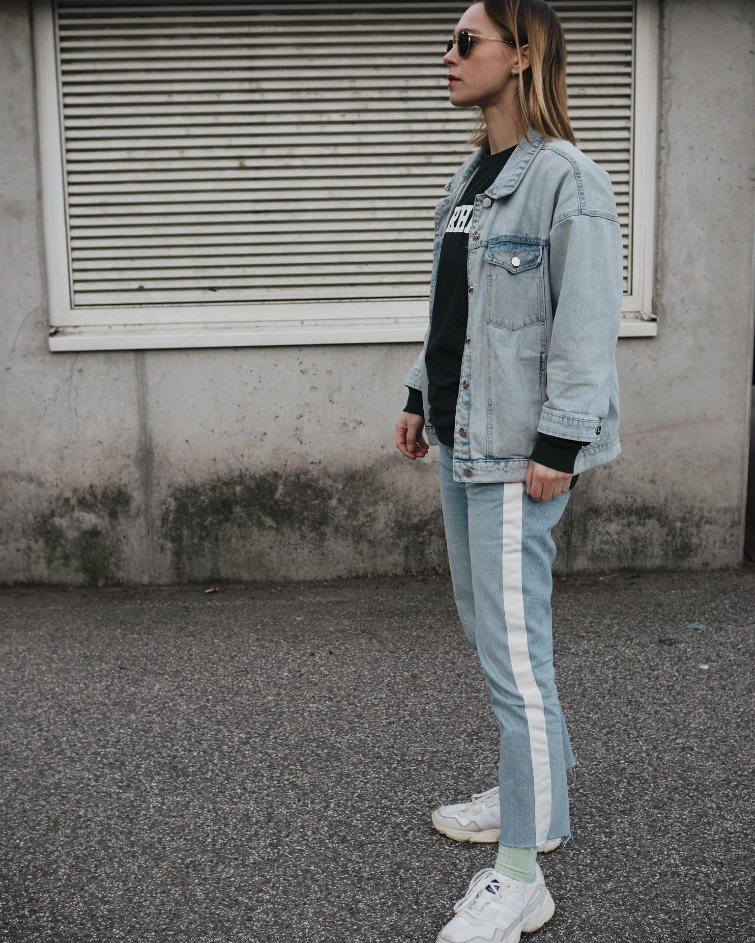 Denim Look 💙 #fashion #denim #jeans #fashioncrush