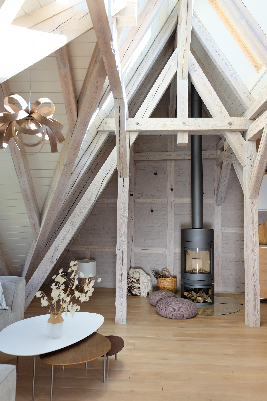 Dachgeschosswohnung Bilder Ideen Couch