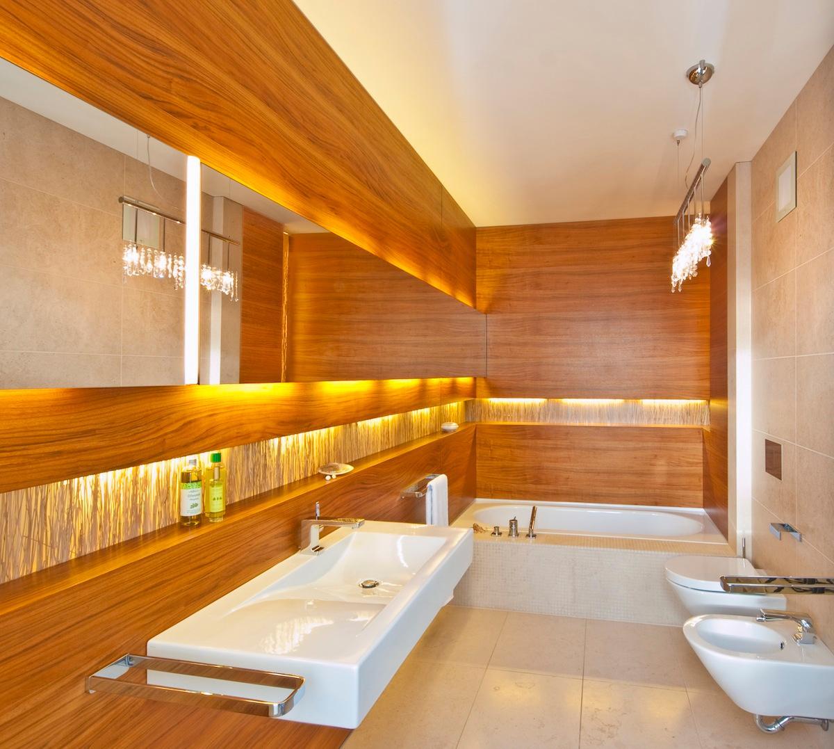 led indirekte beleuchtung für ein exklusives badezimmer - archzine ... - Badezimmer Indirekte Beleuchtung
