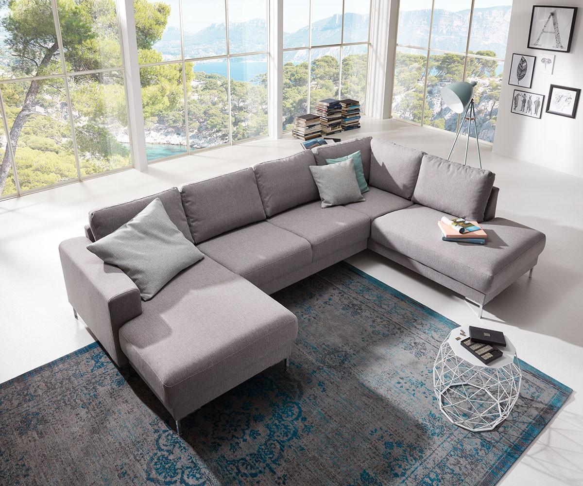 Designer wohnlandschaft silas 300x200 grau ottomane for Wohnlandschaft 400 x 300