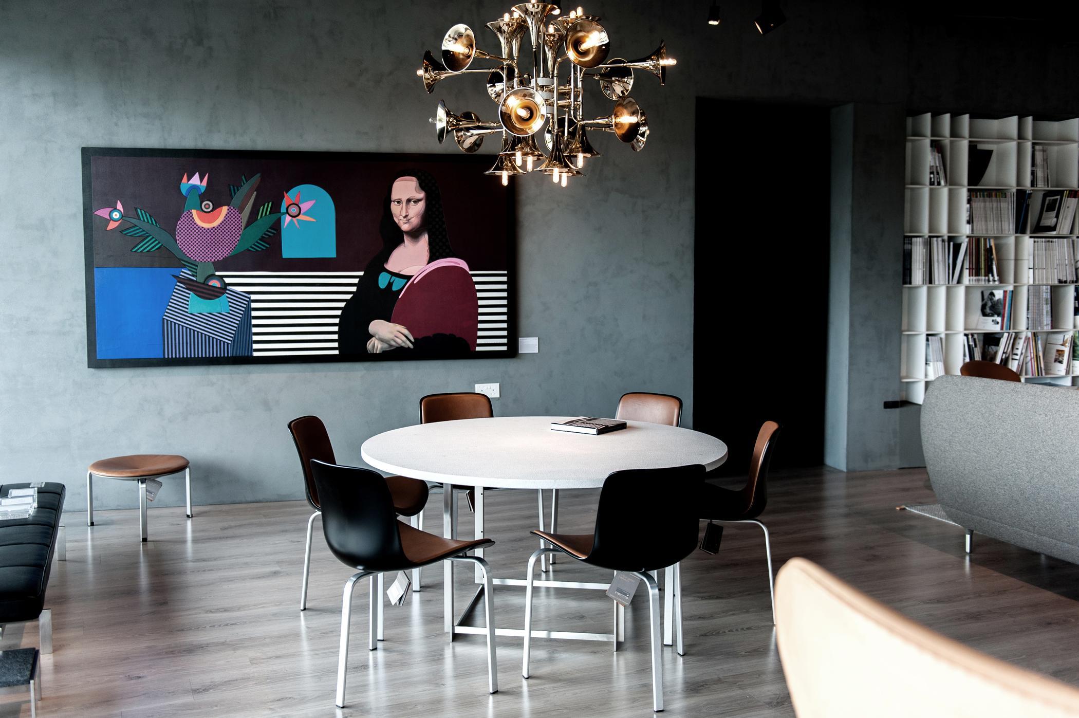 runder holztisch esszimmer, runder tisch • bilder & ideen • couch, Design ideen