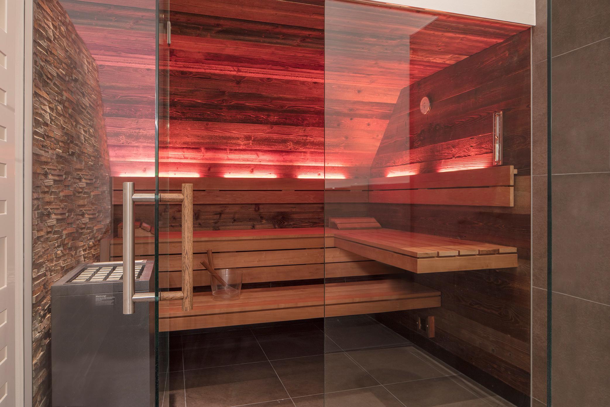 Favorit Designsauna mit Altholz #sauna #badsauna ©corso saun... YG85