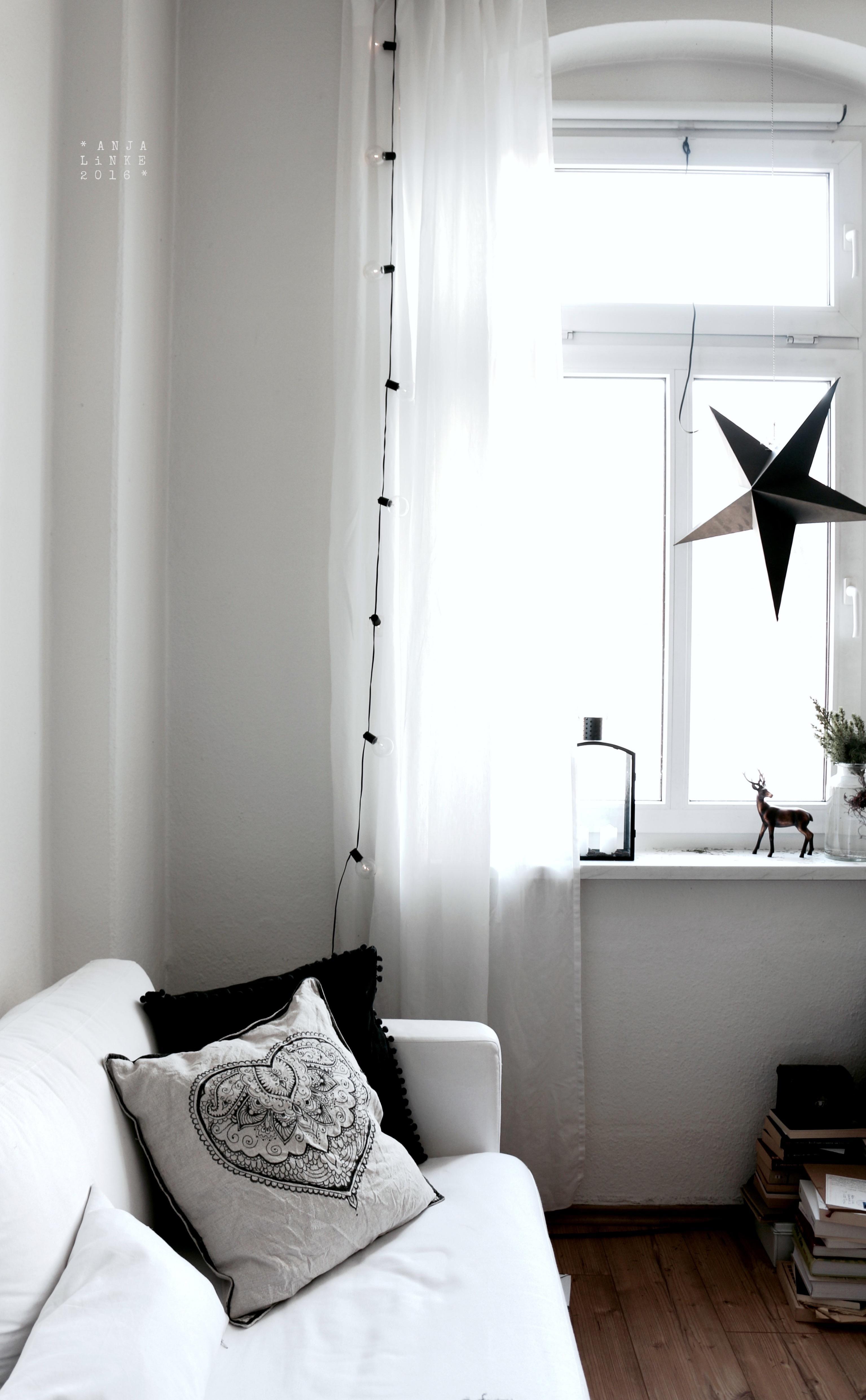 Dezember Wohnzimmer Altbau Diy Kissen Ikea Laminat CAnja Linke