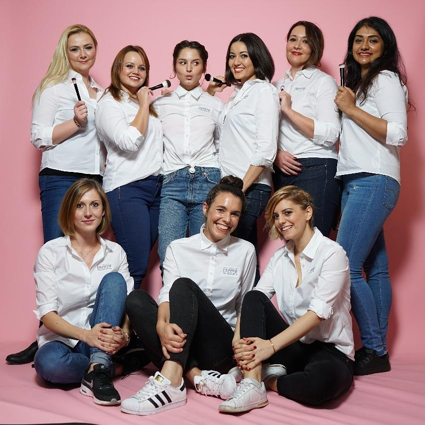 Die Gewinnerinnen des Make-up Workshops mit Lavera #naturkosmetik #lavera #couchunterwegs #couchliebt #couchmagazin #win