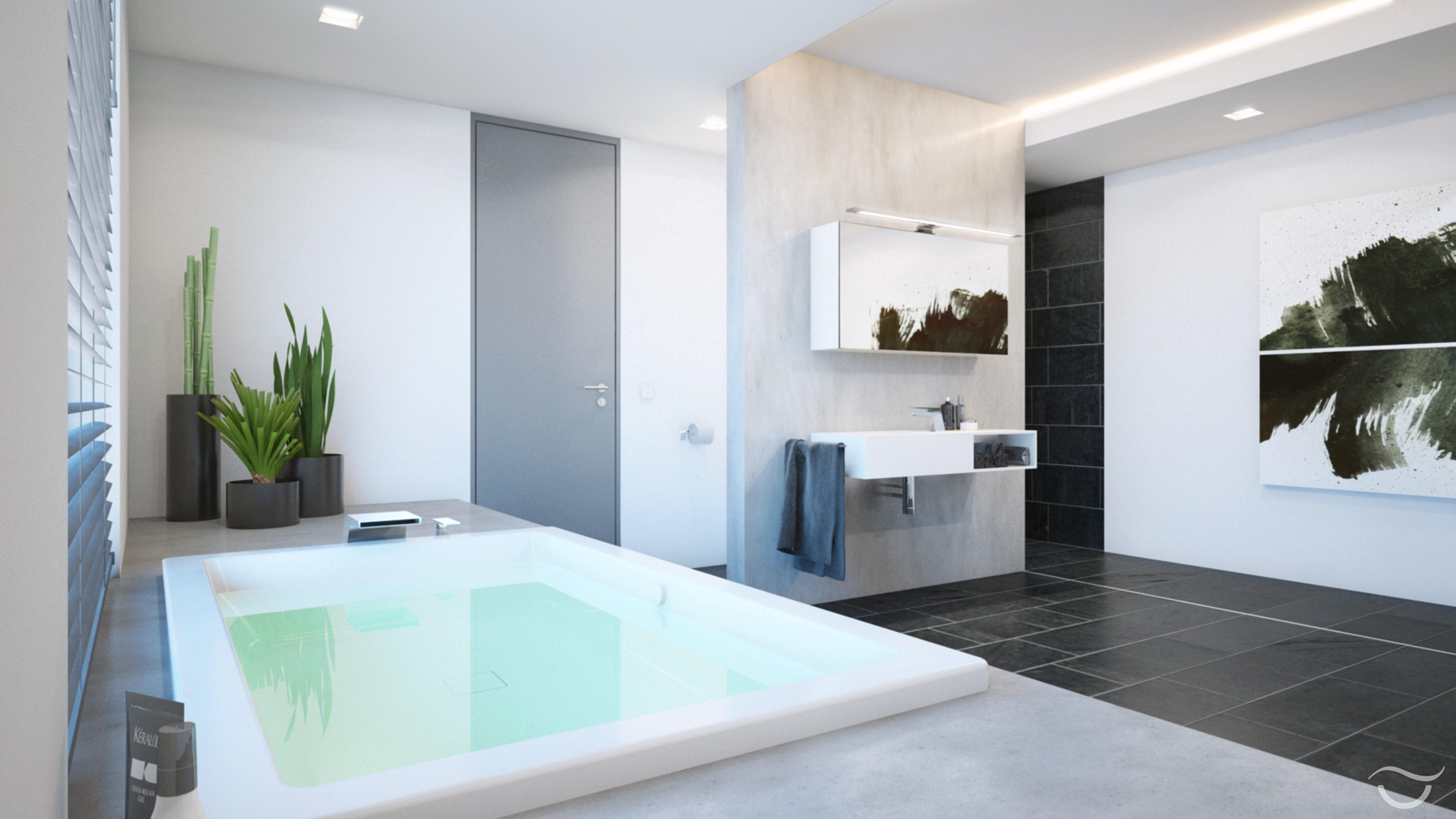 Die Großzügige Badewanne Lädt Zum Verweilen Ein #badewanne #extravagant  #stylisch ©Banovo GmbH