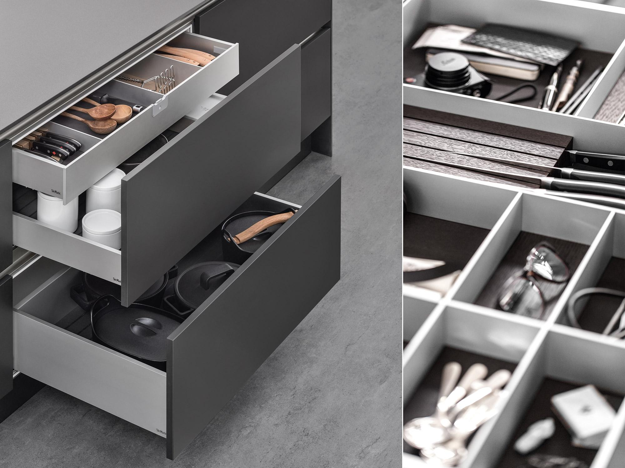 Innenausstattung kuche nzcencom for Schubladenschrank küche