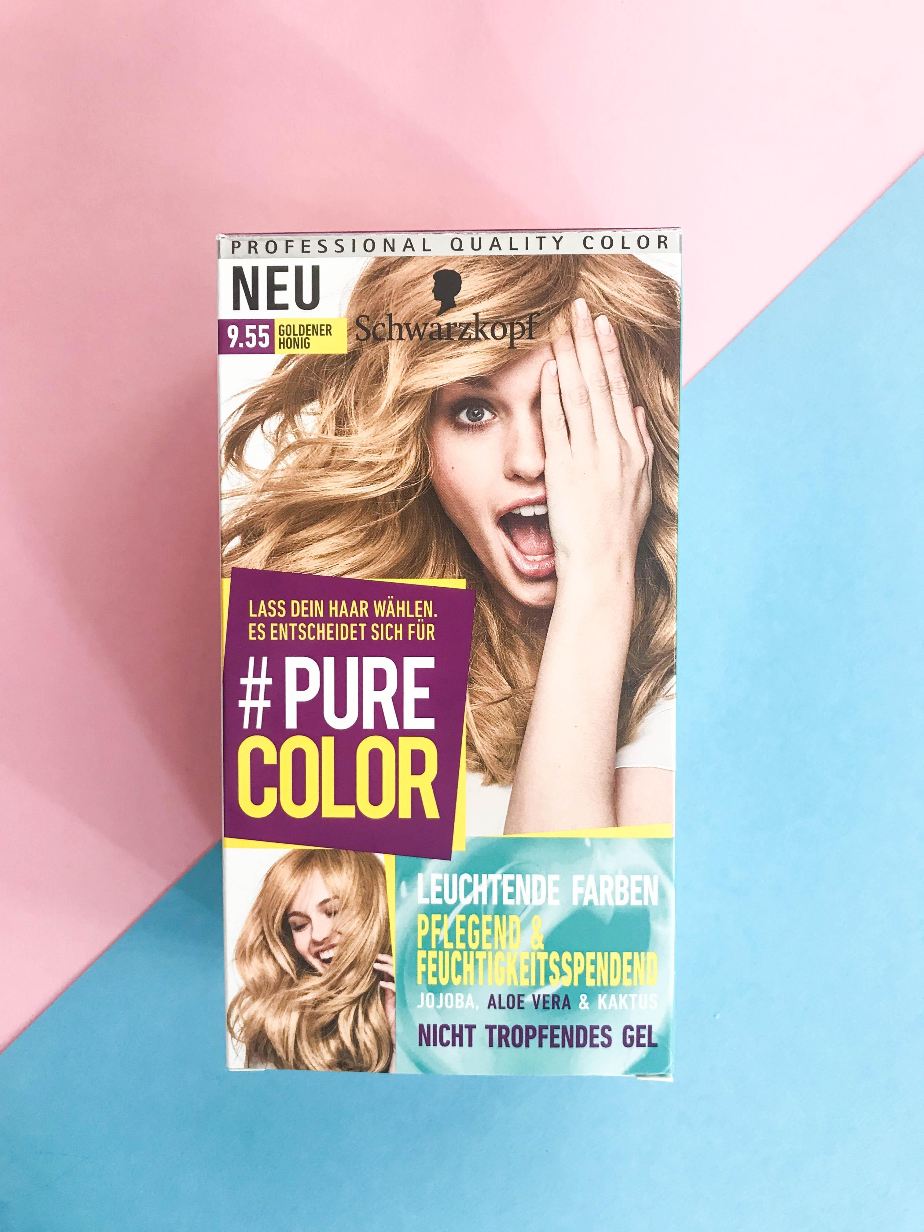 Die Purecolor Coloration Von Schwarzkopf Mit Gel Fo