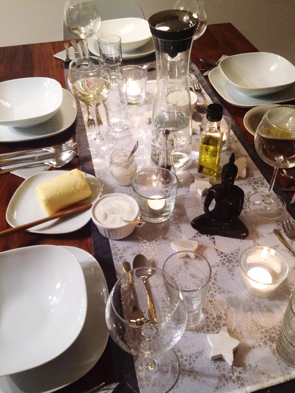 Dinner Tischdekoration Fur Weihnachten Esstisch