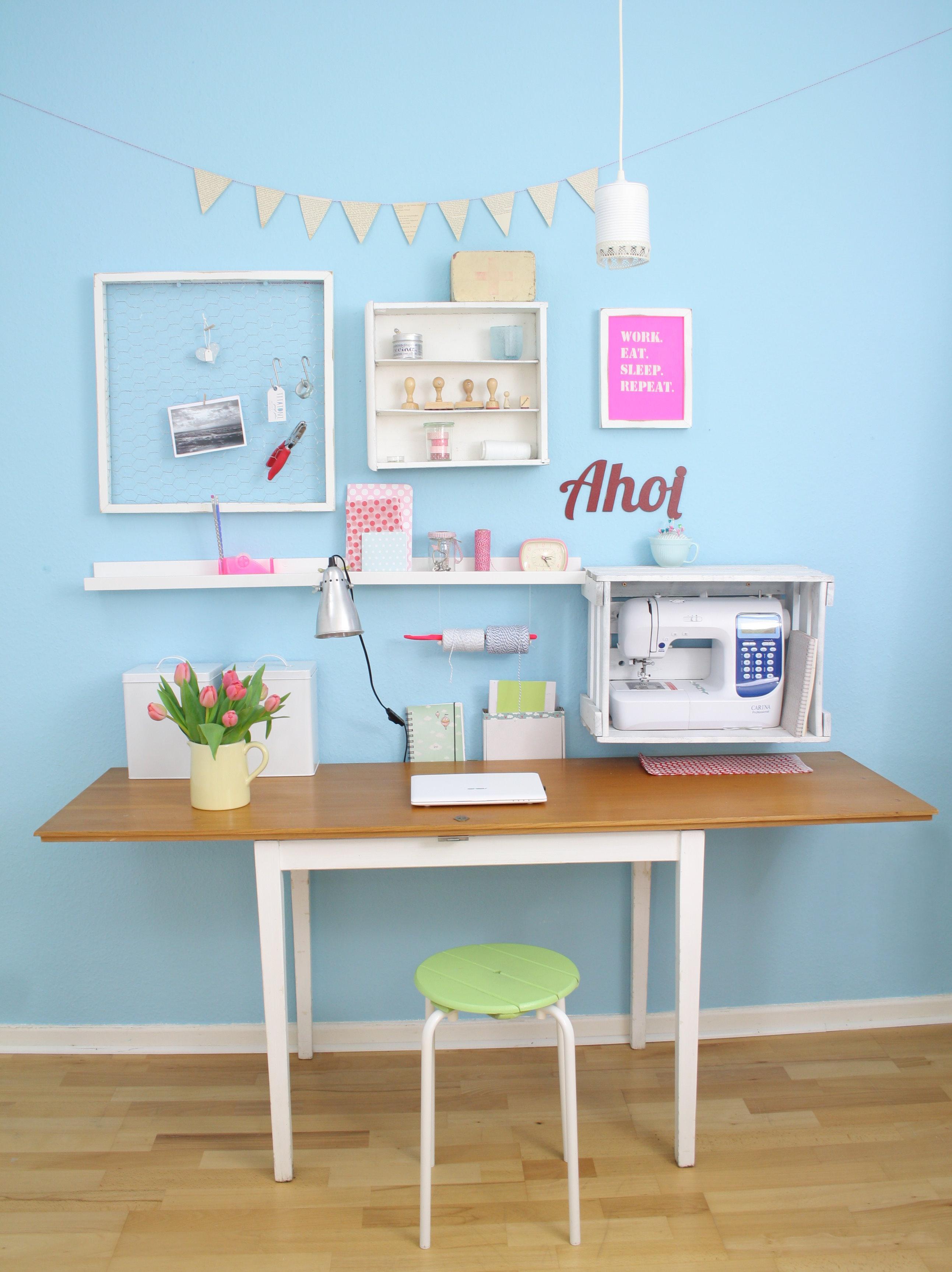 Büro schreibtisch selber bauen  DIY Schreibtisch: Schreibtisch selber bauen • Bilder & Ideen ...