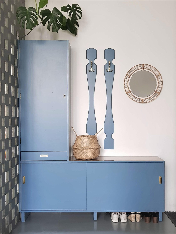 #diy #Garderobe #Flur #upcycling Mit #vintage #Spiegel Vom Flohmarkt