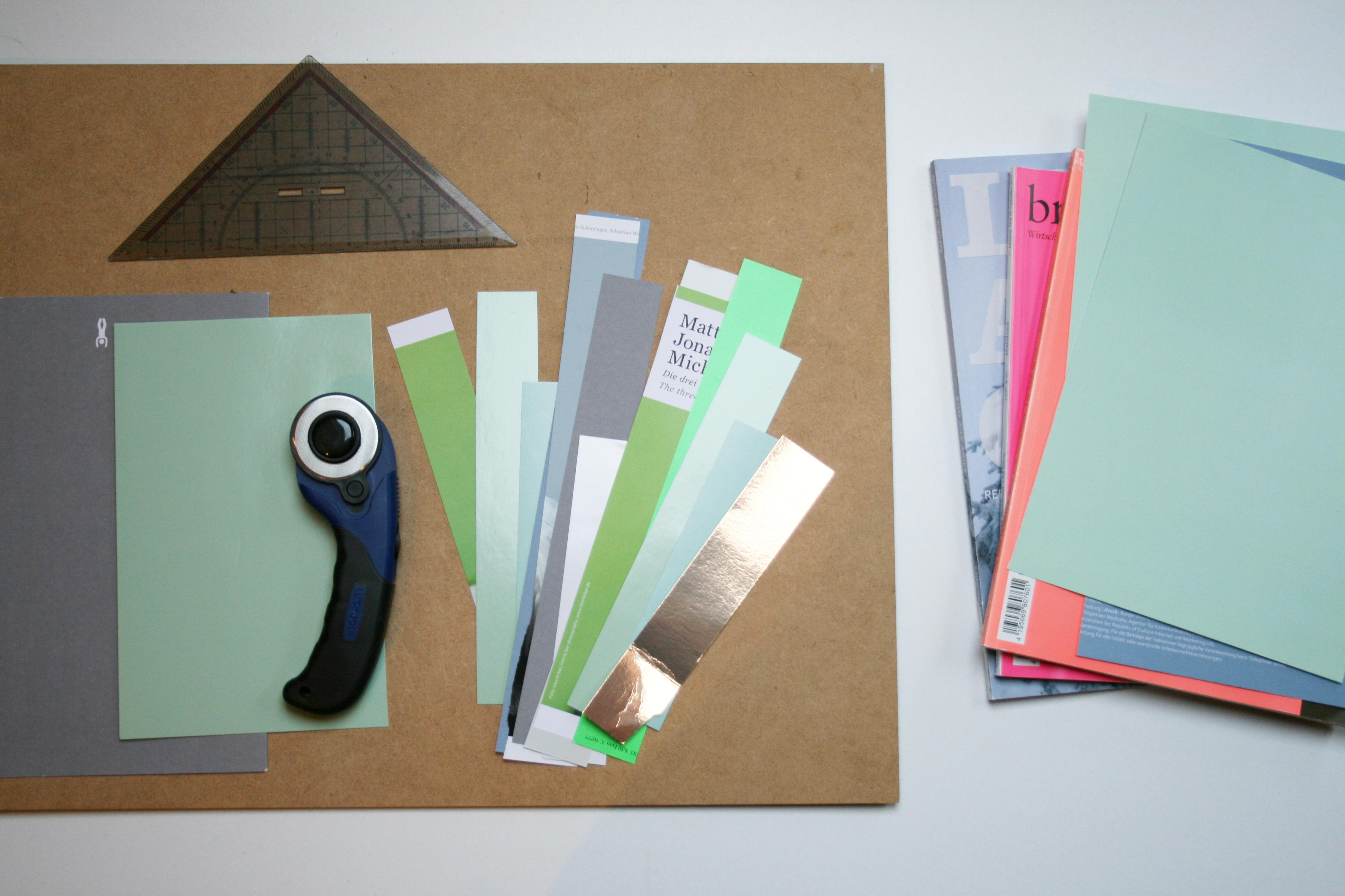Diy geometrische collage wandgestaltung diy wandd for Wandgestaltung diy
