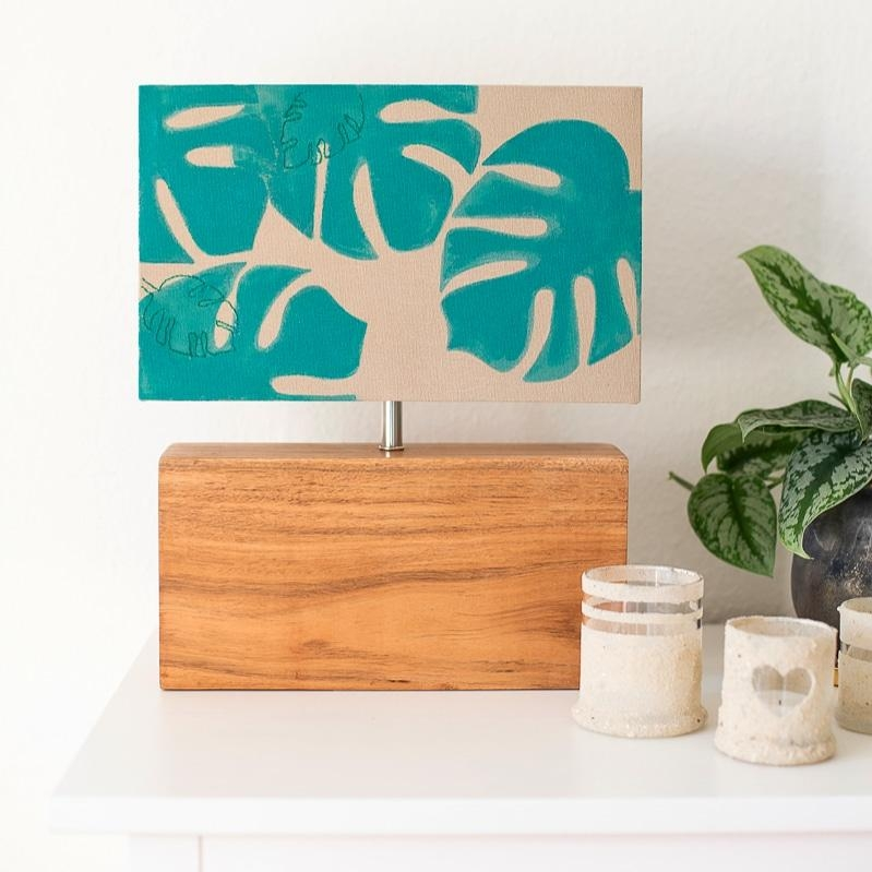 Diy Monstera Lampe. Ein wenig extra Botanical Flair.