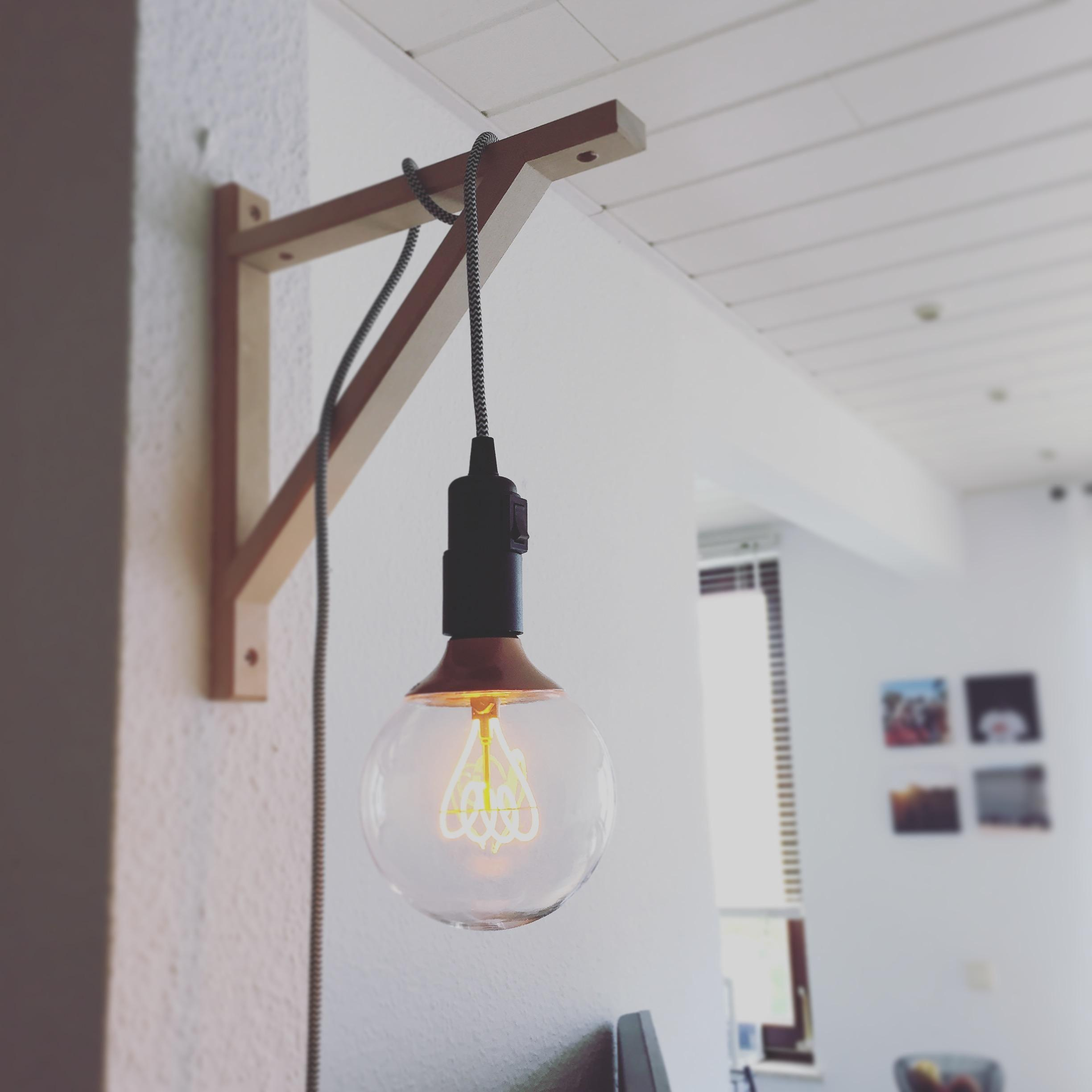 #DIYlampe #DIYweek #couchstyle #couchliebt #light #hack