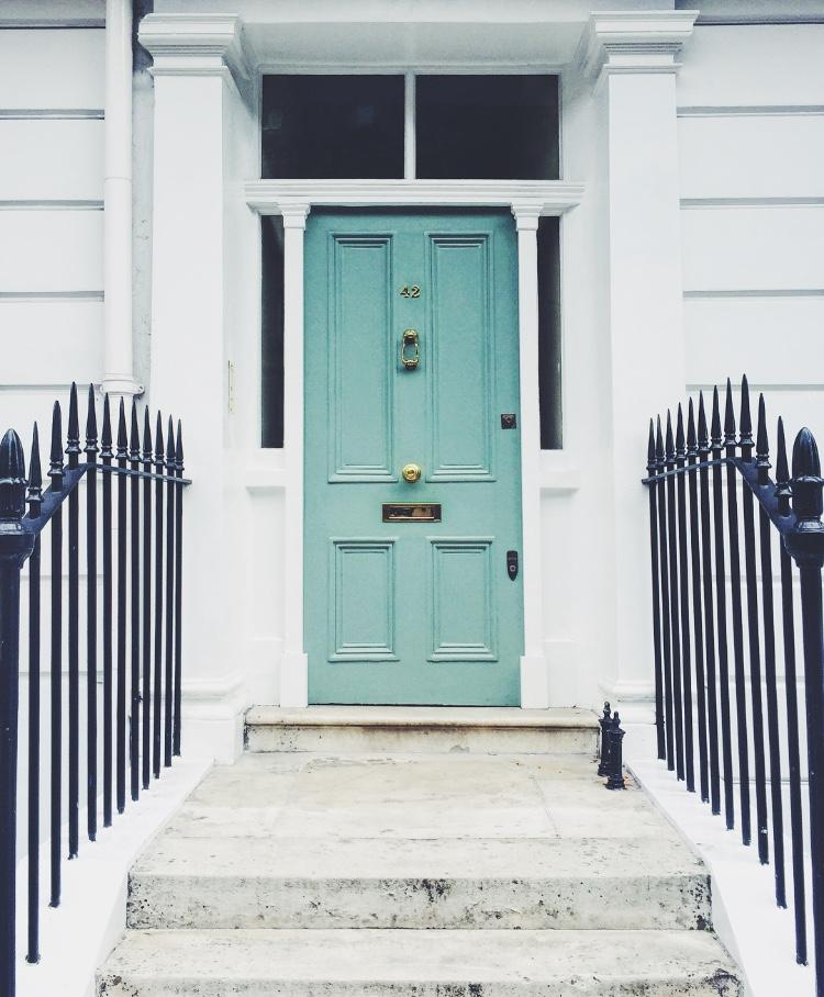 Doors #türenliebe #mint #london #chelsea #haustür