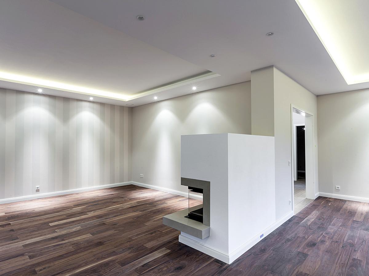 downlights sorgen f r herrliche lichtkegel an den w. Black Bedroom Furniture Sets. Home Design Ideas