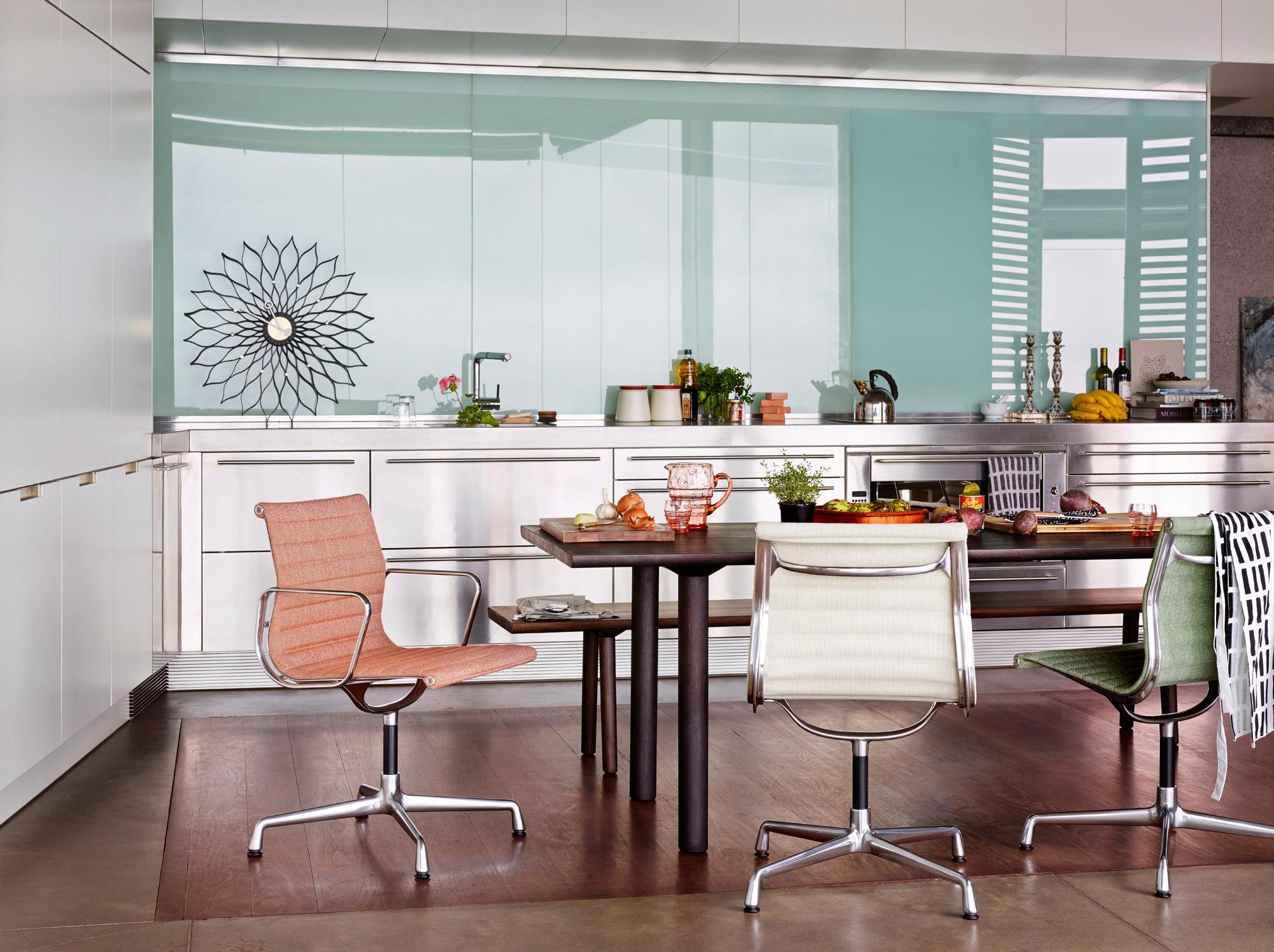Drehstühle im Esszimmer #küche #esstisch #geschirr #...