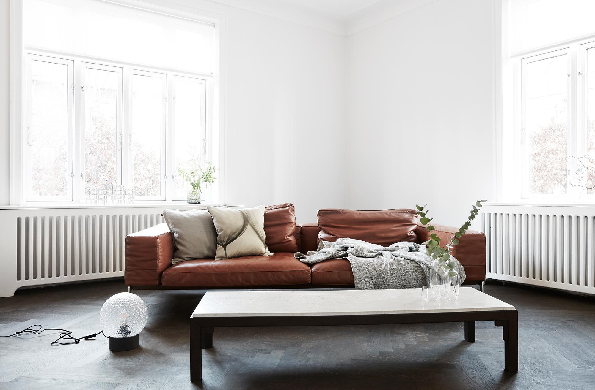 Cognacfarbenes Ledersofa Bilder Ideen Couchstyle