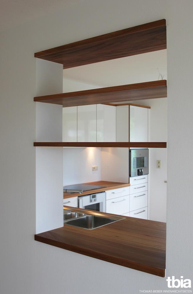 Durchreiche #küche #durchreiche ©E. Beck/ Tbia