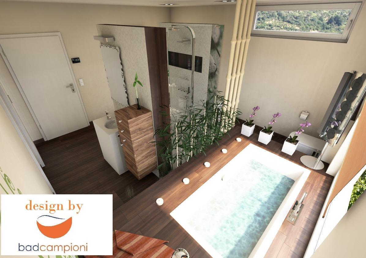 eingelassene badewanne bilder ideen couchstyle. Black Bedroom Furniture Sets. Home Design Ideas