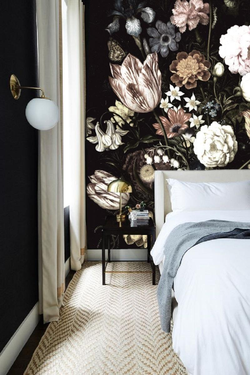 #dutch#dark#wallpaper#painting#wall#floral#blumen#stilllifeflower#wallmural