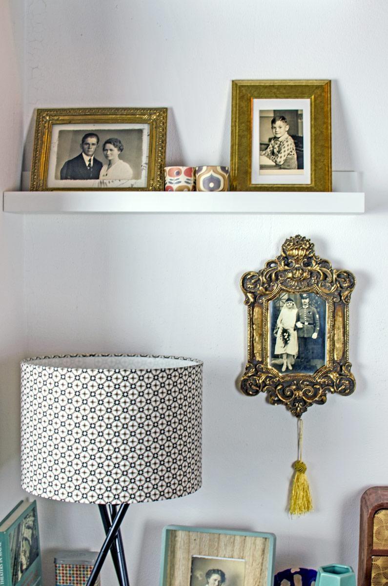 Echte Familengeschichte An Meiner Wand #thepotsdamproject #walldecor  #wandgestaltung #bilder #vintage #