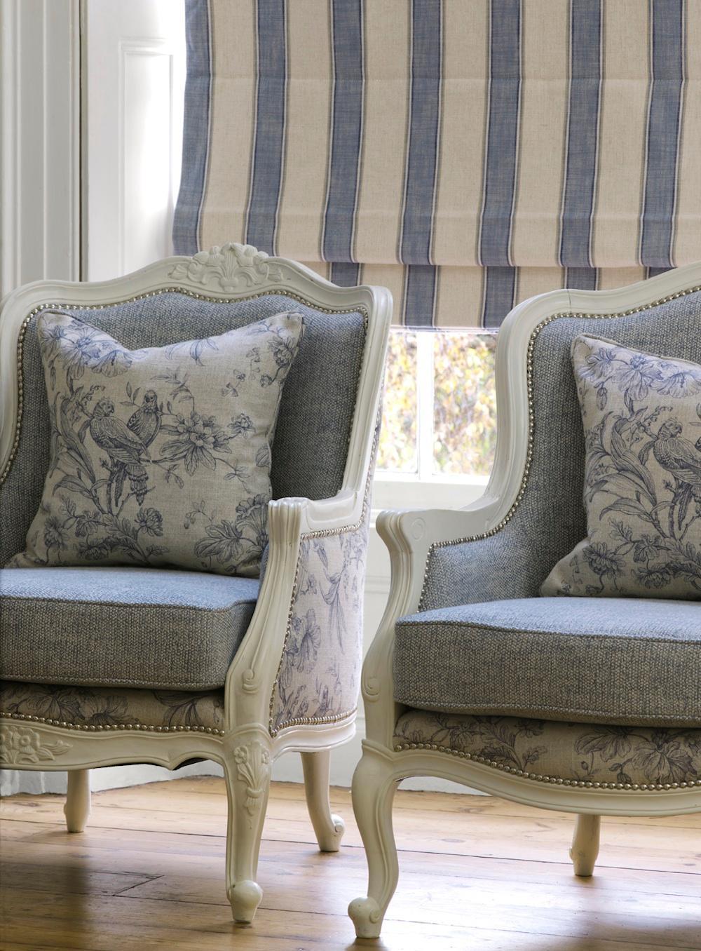 Edle Sesselbezüge, Kissen Und Gardinen #wohnzimmer #sessel #kissen #gardine  #grauersessel
